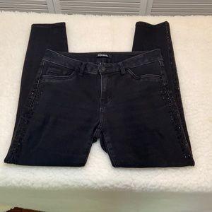 D.Jeans JEANS SIZE 6 Black